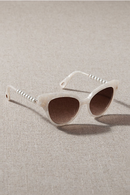 Lele Sadoughi Mother of Pearl Chelsea Sunglasses
