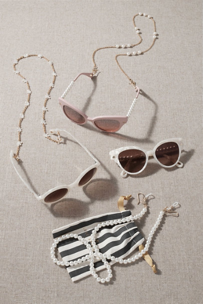 View larger image of Lele Sadoughi Blush Chelsea Sunglasses