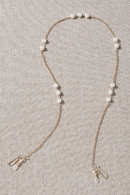 Lele Sadoughi Pearl Accent Sunglass Chain