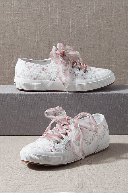 LoveShackFancy x Superga Abelia Sneakers