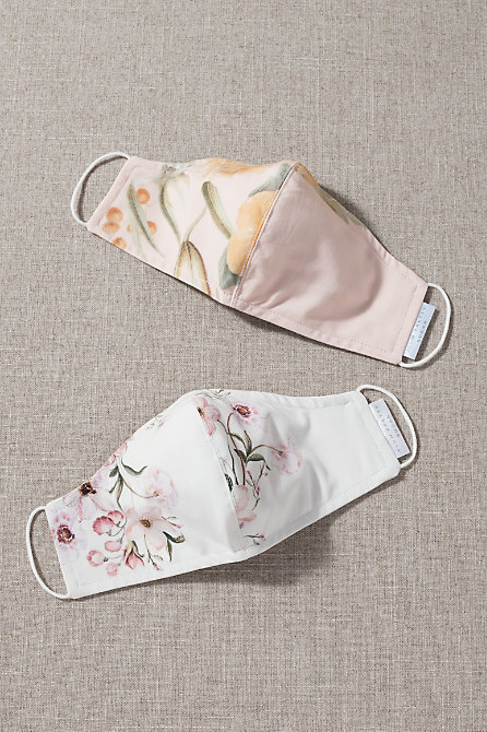 Lia Reusable Face Masks, Set of 2