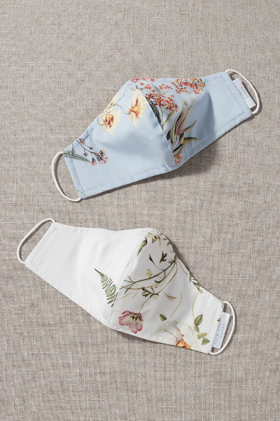 View larger image of Florette Reusable Face Masks, Set of 2