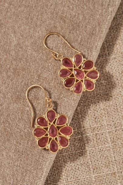 View larger image of Jemma Sands Plumeria Earrings