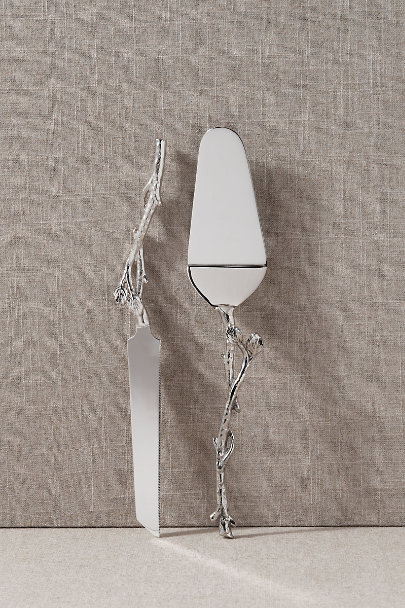 View larger image of Silver Cake Server Set