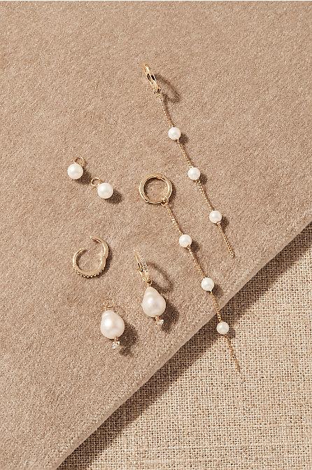 Lemmon Pearl Earring Pack