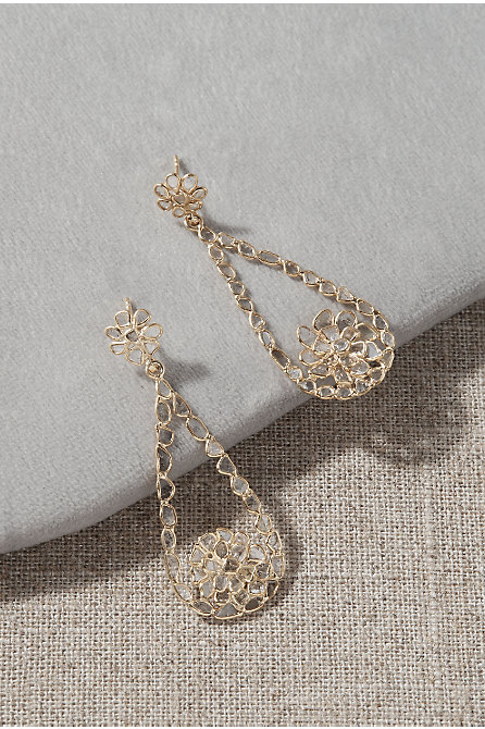 Jemma Sands Las Palmas Diamond Earrings