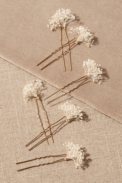 View larger image of Copine Preserved Flower Hair Pins
