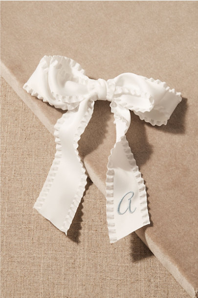 View larger image of The Avenue Monogram Bow