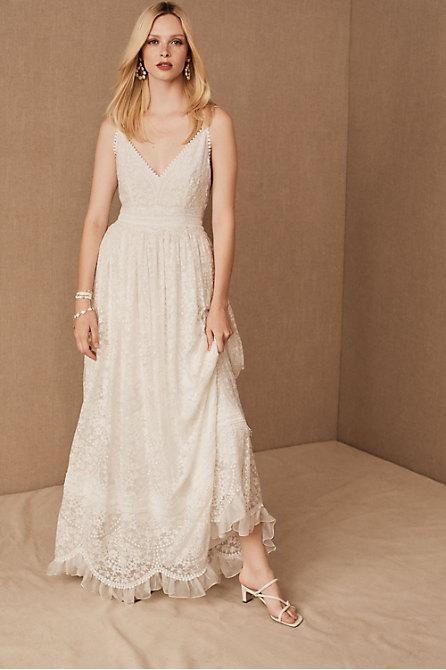 Bohemian Boho Wedding Dresses Bhldn