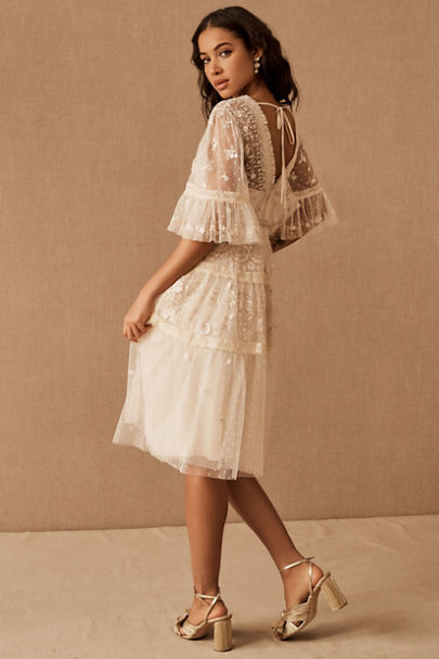 View larger image of Needle & Thread Lottie Lace Midi Dress