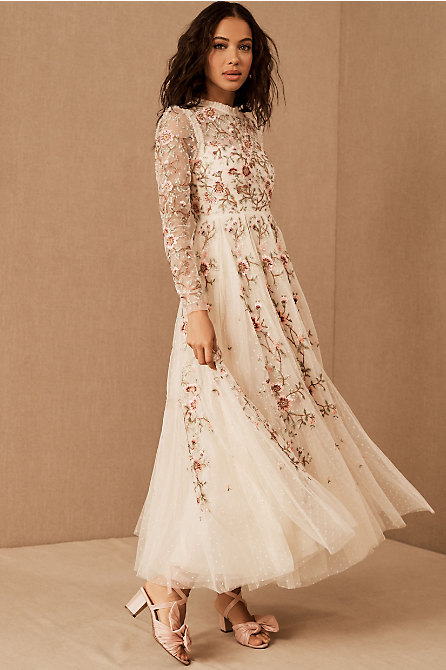 Needle & Thread Lillian Rose Ankle Gown
