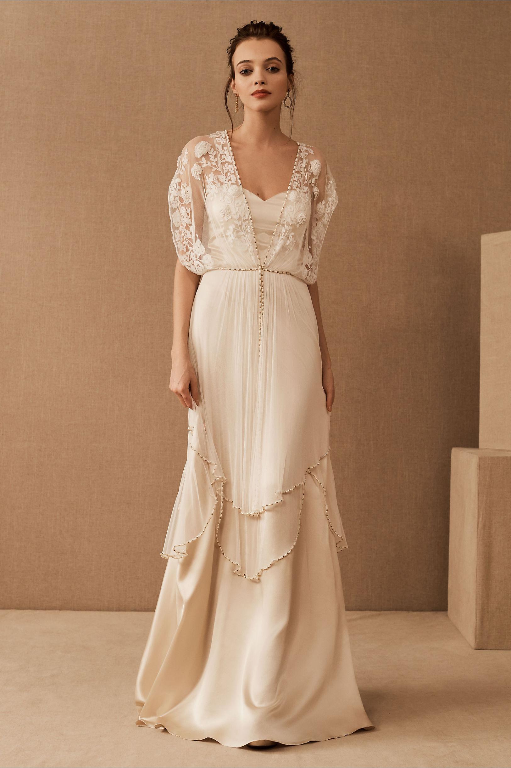 Victorian Wedding Dresses, Shoes, Accessories Catherine Deane Lita GownSize Guide Video  AT vintagedancer.com