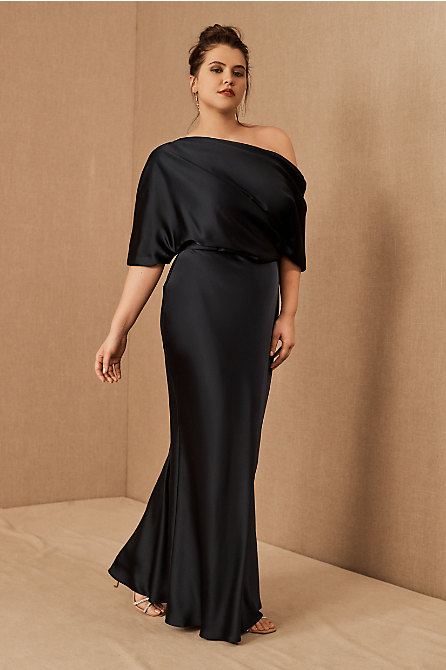 Pryce Off-the-Shoulder Column Dress