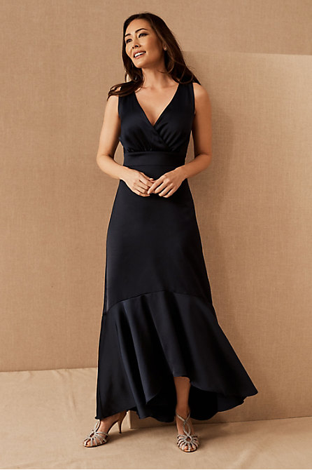 BHLDN Fairbanks Satin Dress