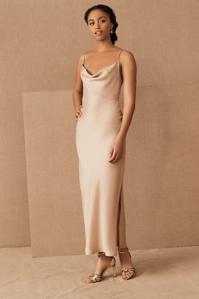 View larger image of Cali Satin Midi Dress