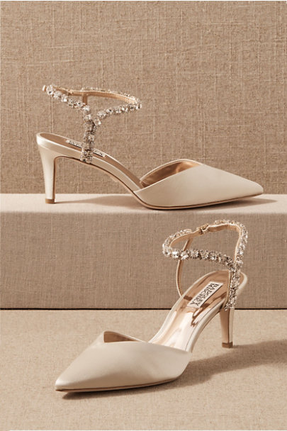 View larger image of Badgley Mischka Bonnet Heels