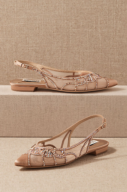 Badgley Mischka Hanna Flats