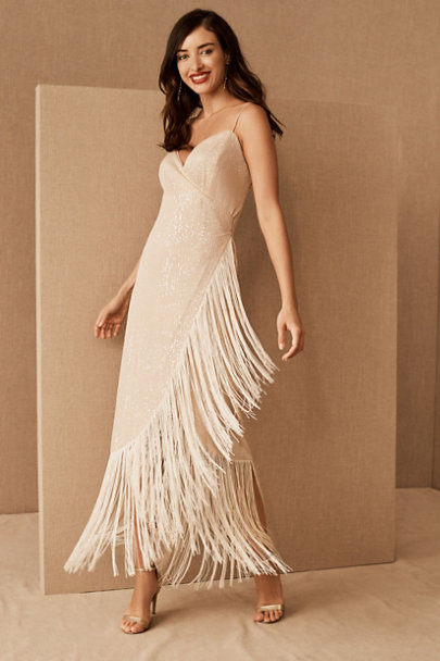 View larger image of Azulu Tierra Fringe Dress