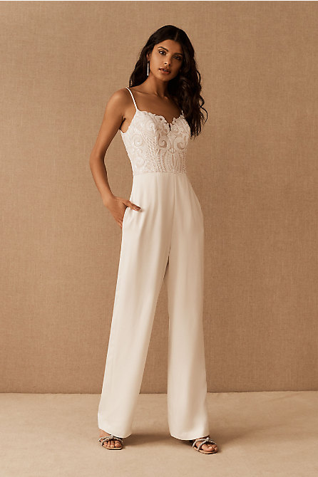 Hayley Paige Harvey Sequin Jumpsuit