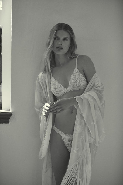 View larger image of BHLDN Lilah Fringe Robe