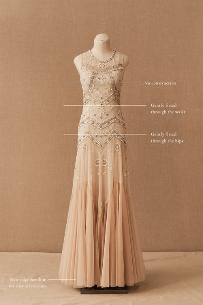 View larger image of Needle & Thread Cate Gown