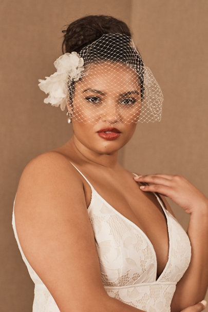 View larger image of Twigs & Honey Nikita Birdcage Veil