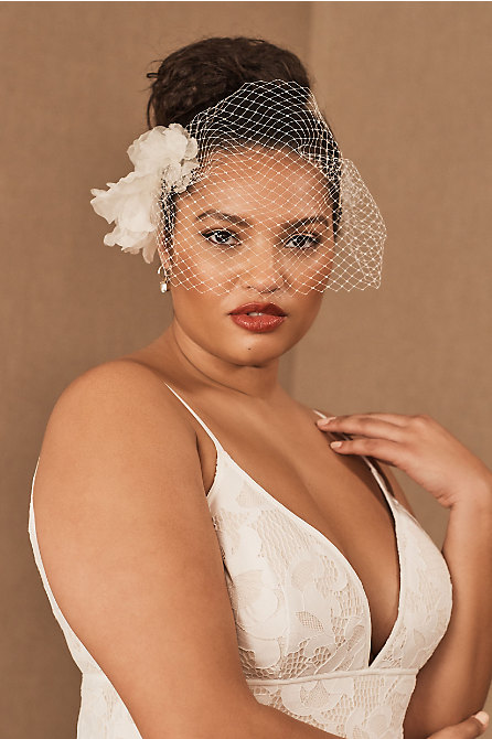 Twigs & Honey Nikita Birdcage Veil