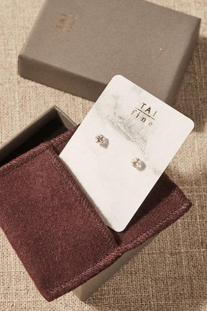 View larger image of Vala White Topaz & 14k Gold Earrings