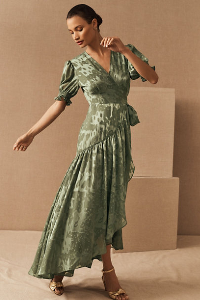 View larger image of Biscayne Ruffle Wrap Dress