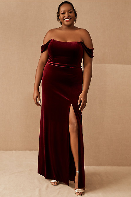 Jenny Yoo Issa Velvet Dress