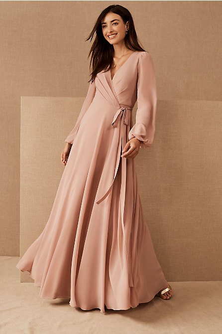 Jenny Yoo Idris Wrap Dress