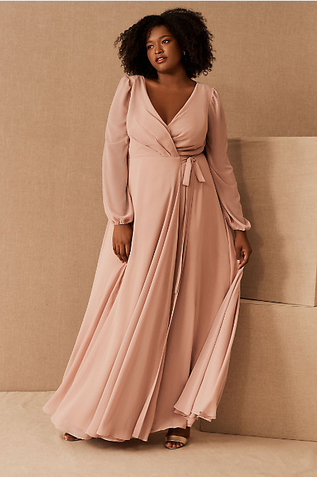 Jenny Yoo Idris Luxe Chiffon Dress