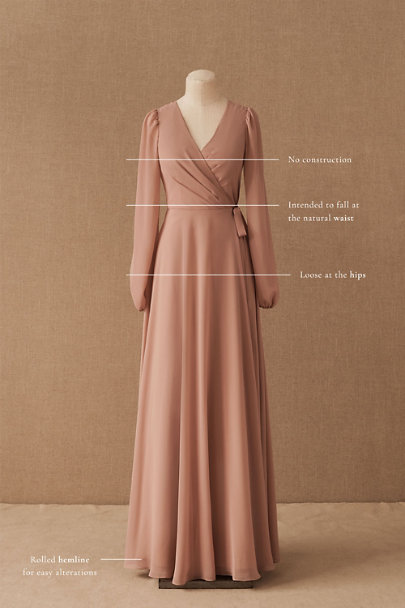 View larger image of Jenny Yoo Idris Luxe Chiffon Dress