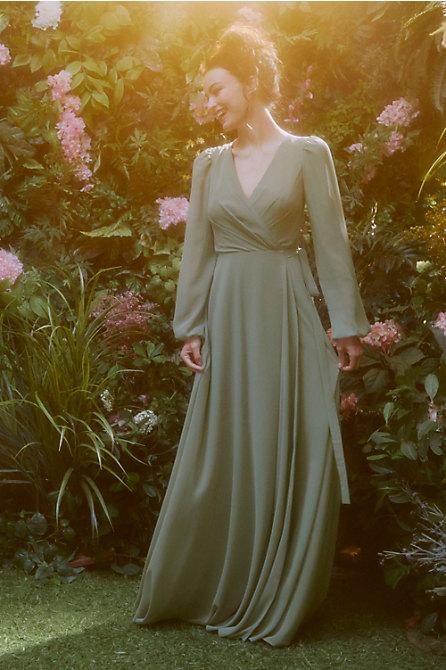 Jenny Yoo Idris Wrap Dress
