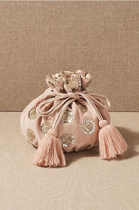 Aesha Velvet Bag