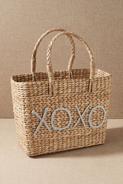 View larger image of XOXO Straw Tote