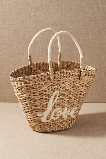 View larger image of Love Straw Tote