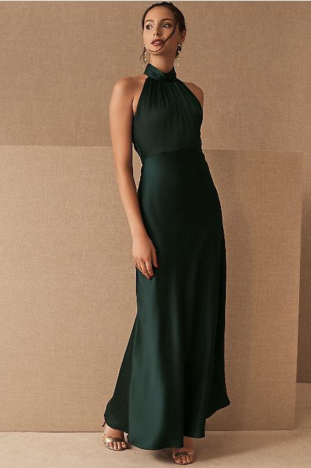 Esme Satin Charmeuse Dress