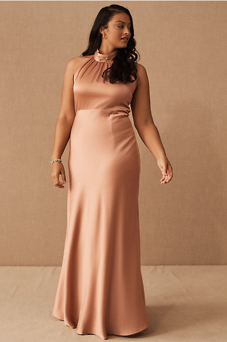 Esme Satin Charmeuse Dress