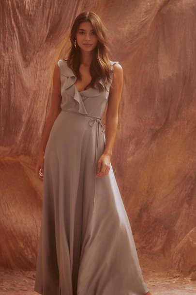 View larger image of Tansy Satin Maxi Dress