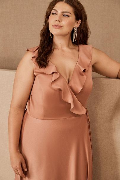 View larger image of Tansy Satin Charmeuse Maxi Dress