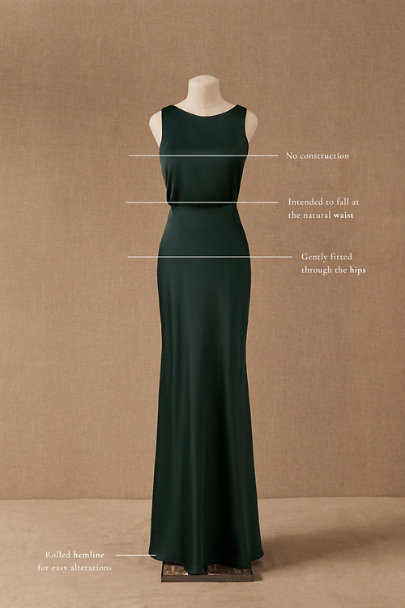 View larger image of Beckett Satin Maxi Dress