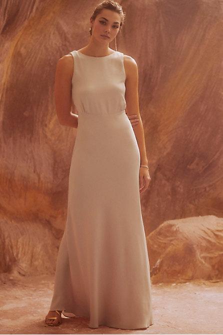 Beckett Satin Maxi Dress