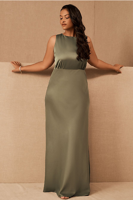 Beckett Satin Maxi Dress