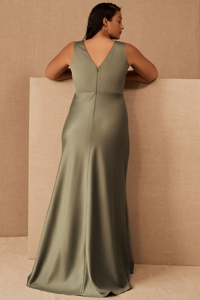 View larger image of Beckett Satin Maxi Dress