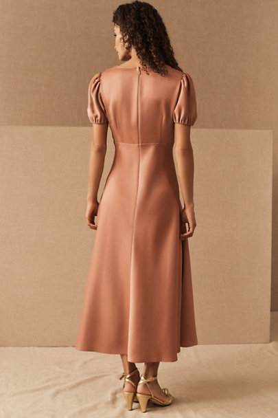 View larger image of Shelley Satin Charmeuse Midi Dress