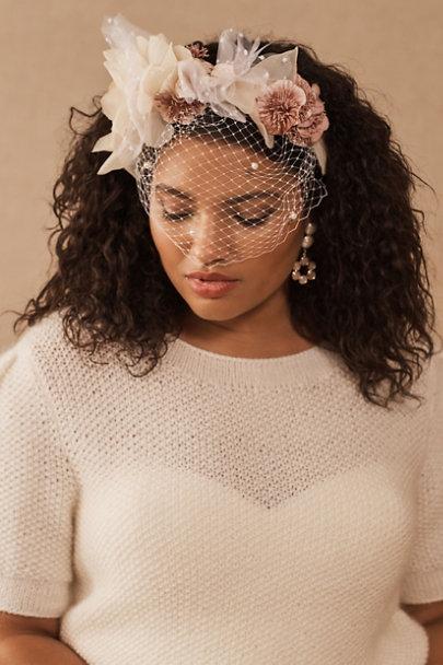 View larger image of Rita Von Nathalie Birdcage Headband