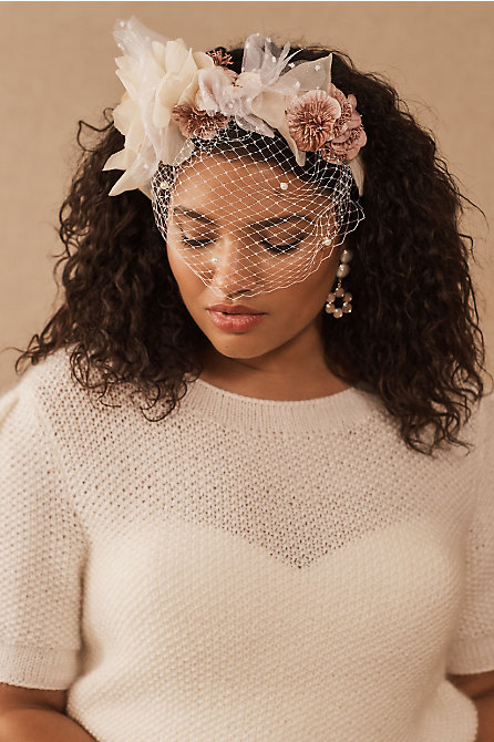 Rita Von Nathalie Birdcage Headband