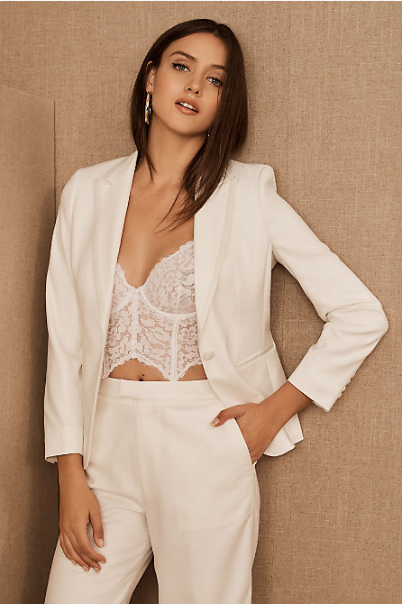 The Tailory New York x BHLDN Joanie Suit Jacket