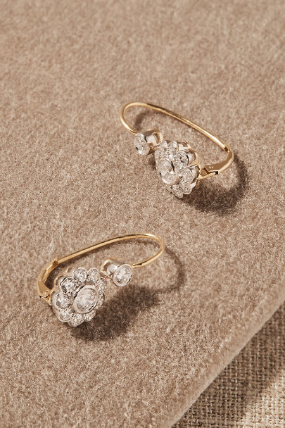 View larger image of Vintage Victoria Halo Earrings